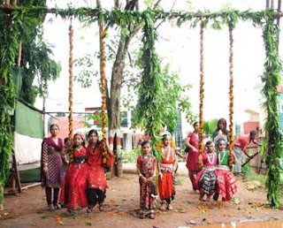 Raja Parba being celebrated in Odisha on the onset of monsoon