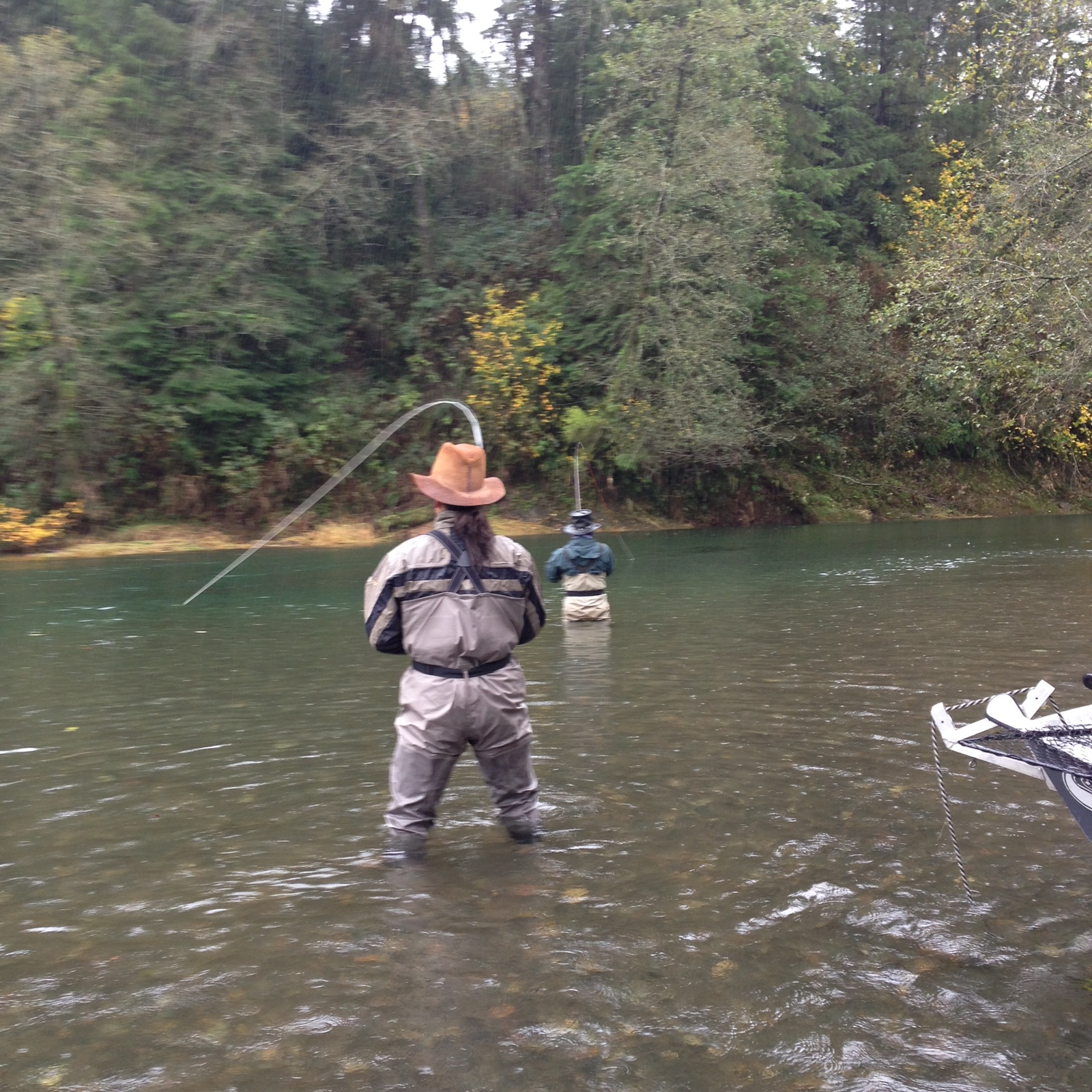 Fly fish oregon water time report fall salmon fishing and for Oregon salmon fishing report