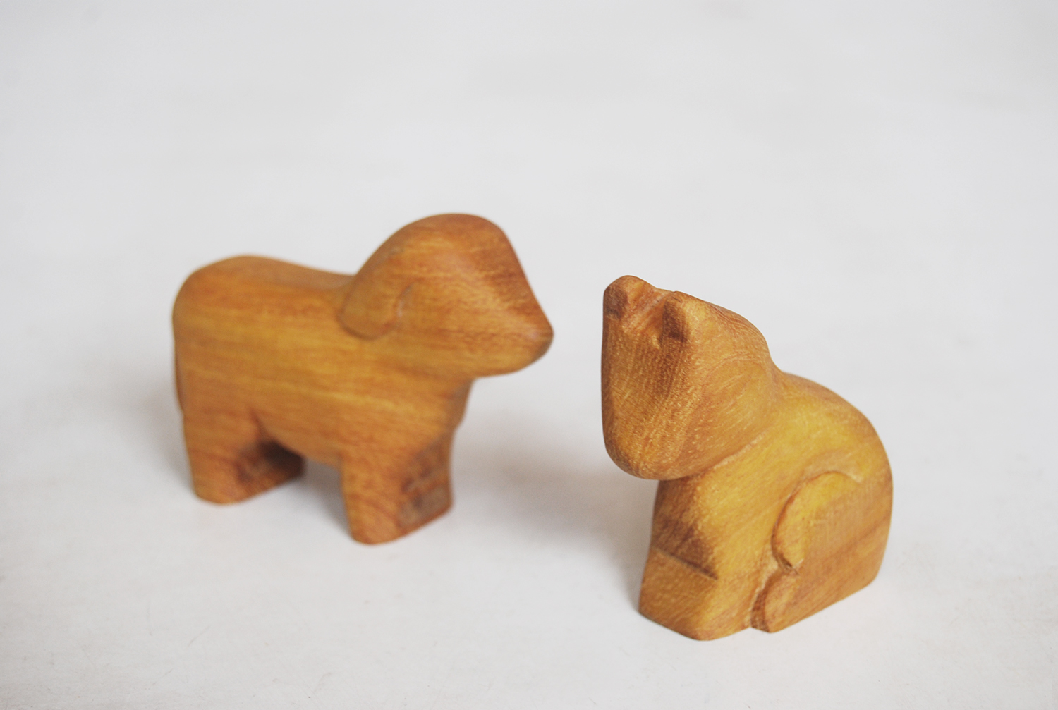 The Size Of His Carved Animals
