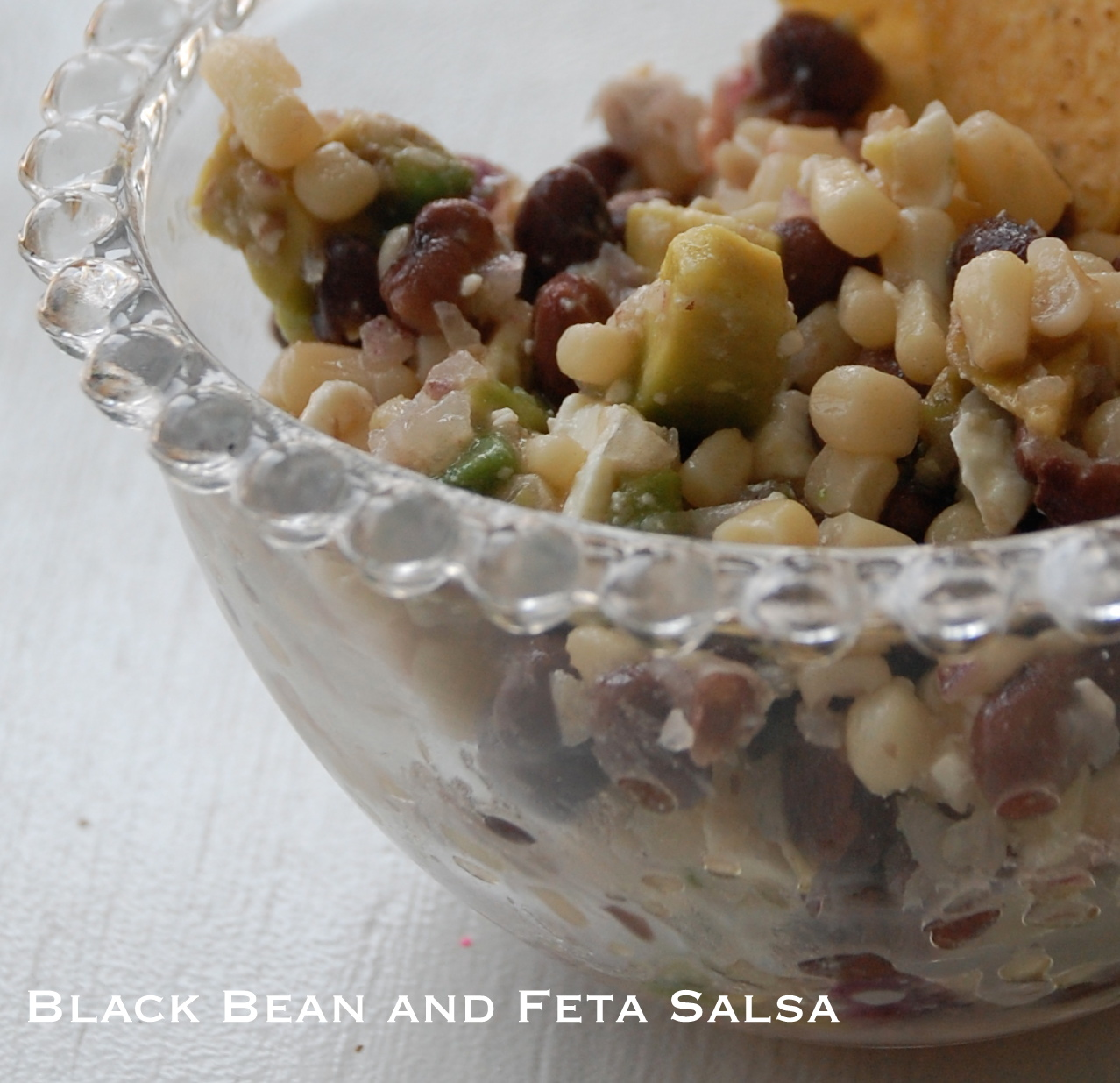 Black Bean and Feta Salsa | A Small Snippet