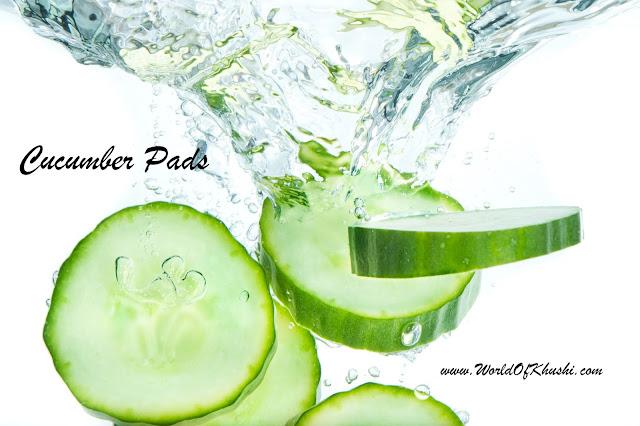 Cucumber Eyes Pads - Khushi's World