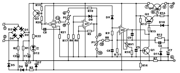 paul's diy electronics blog may 2015 switching power schematic diagram let's go over the changes i made to the original design here is the original schematic