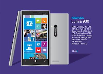 موبايل لوميا 930 من شركة نوكيا
