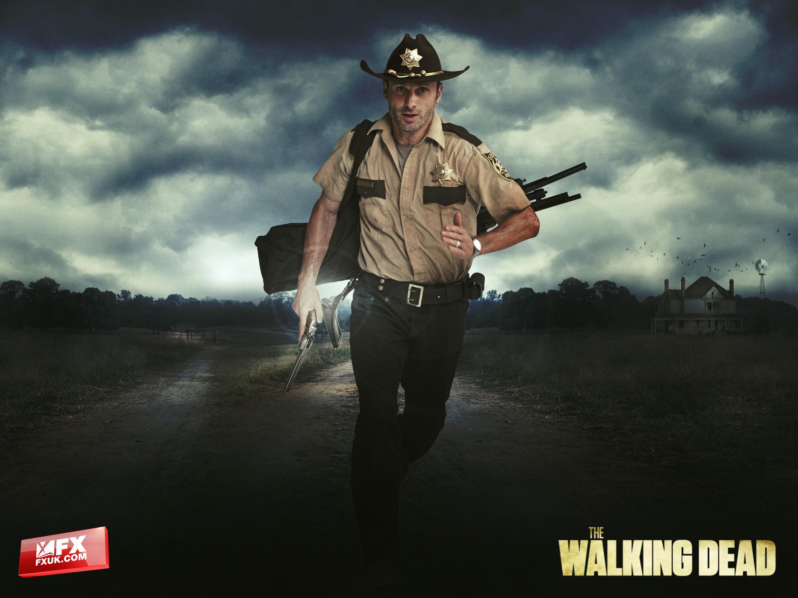 The Walking Dead Duvar Kağıdı 2 (Rick)