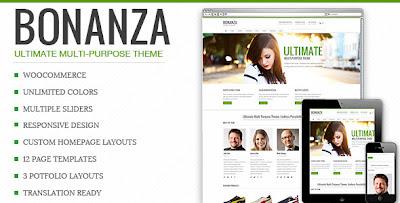 BONANZA, Amazing WooComerce Responsive Theme