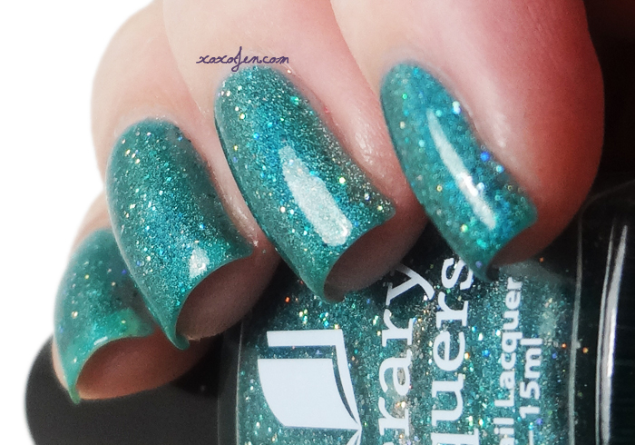 xoxoJen's swatch of Literary Lacquers Thermofish