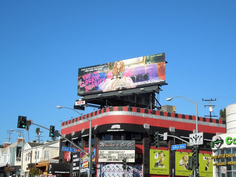 Carrie Diaries series premiere billboard