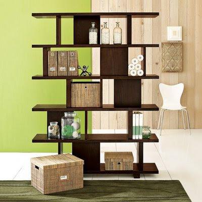 مكتبات منزلية مودرن 2014 مكتبة