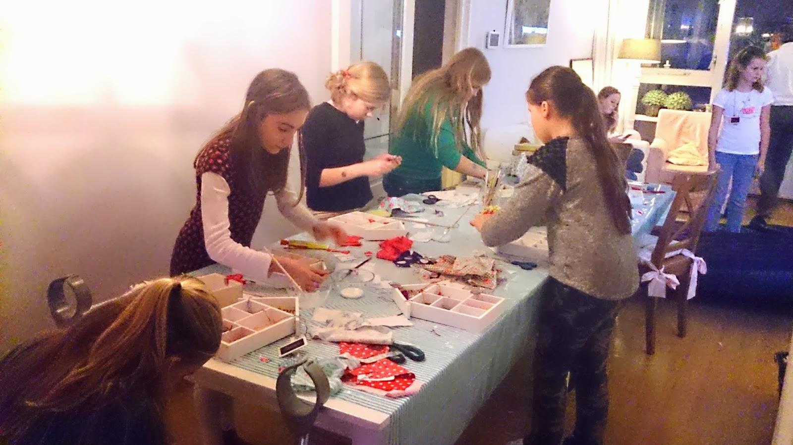 Collie collie: workshop letterbak versieren op bridget's kinderfeestje