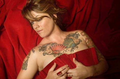 Tattoos on breast of women best wallpapers for Chest piece tattoos female