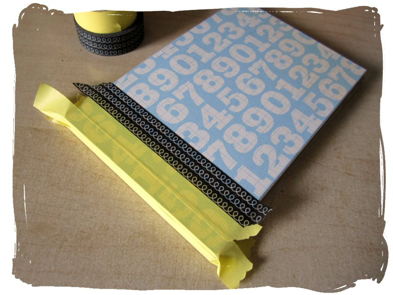 How To Make A Book Cover Without Tape ~ Quirky kits ideas book binding with washi tape