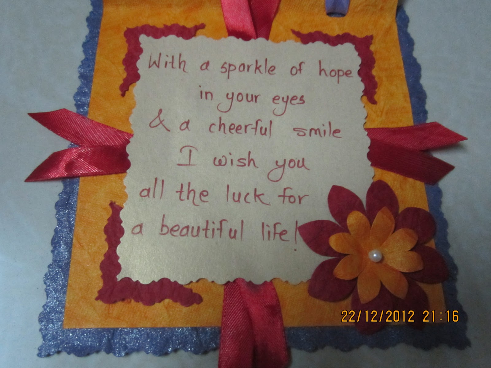 Birthday greeting card for husband in marathi social media la and this is with cute marathi message linas handmade cards birthday cards m4hsunfo