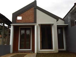 Desain teras yang memiliki kesan simple dan elegan pada rumah minimalis