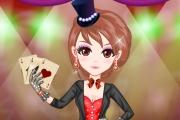 Güzel Sihirbaz Kız Giydirme Oyunu