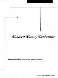 Modern Money Mechanics