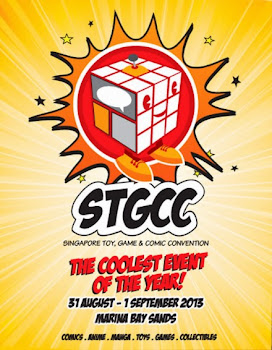 I am going to STGCC 2013