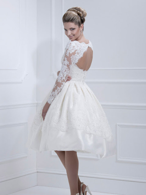 Ellis wedding dresses 2013 short