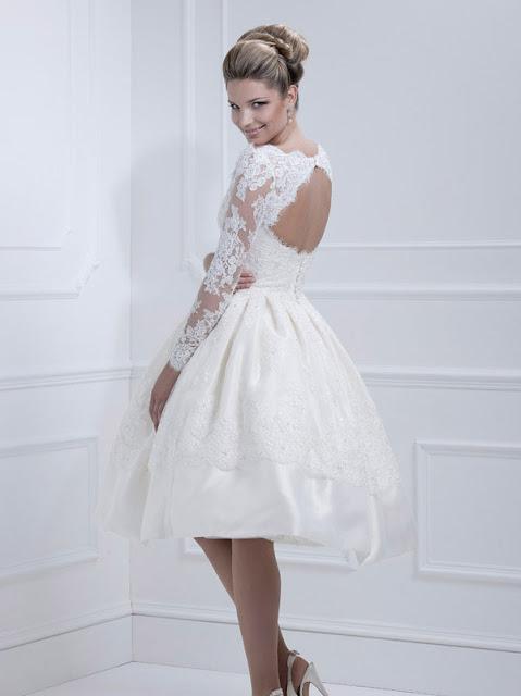 Ellis wedding dresses 2013 short