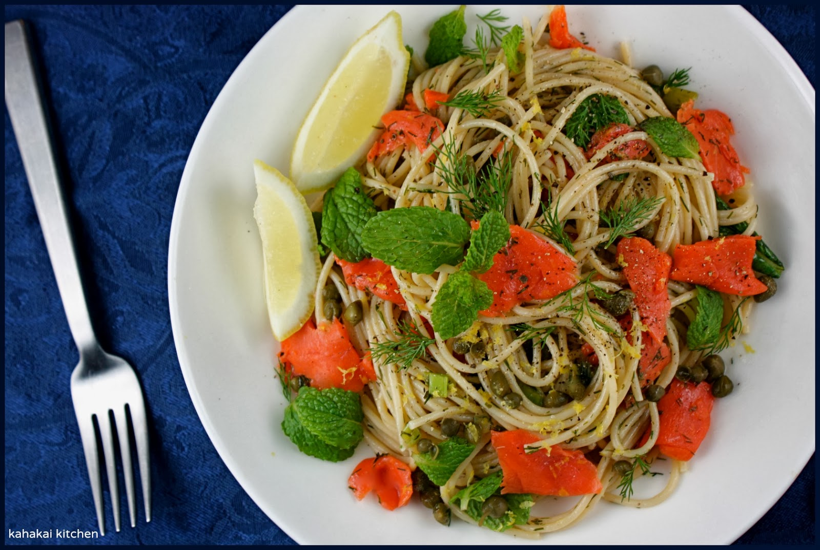 Smoked salmon and capers pasta recipes