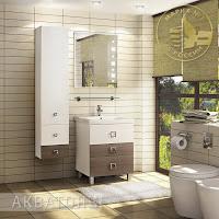 Новинки от Акватон: мебель Стамбул для ванной комнаты