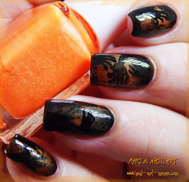 Nail Art Ombres Terrifiantes5