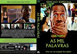 Capa DVD As Mil Palavras