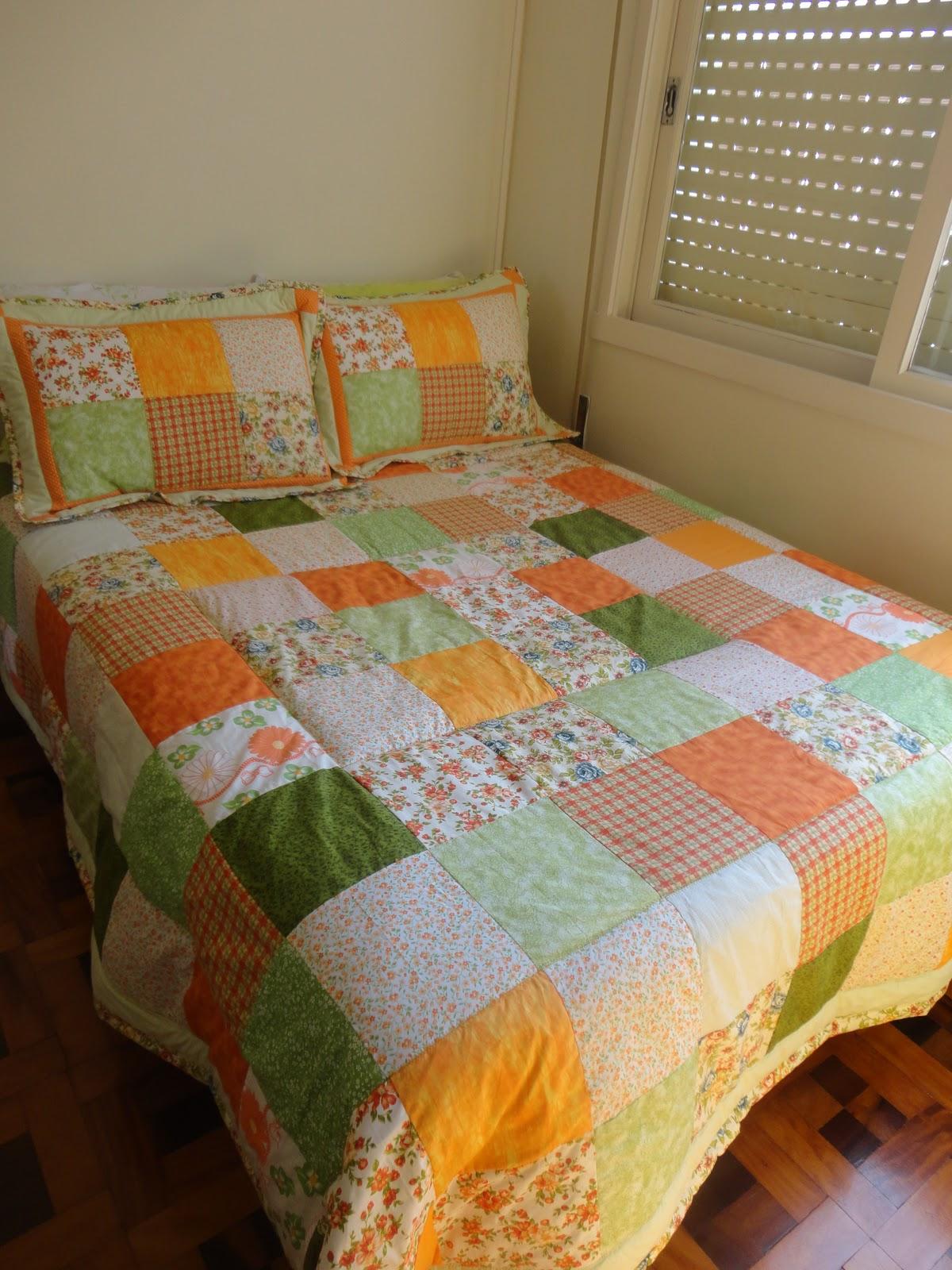 Camila kezo patchwork colcha de patchwork - Colchas de patchwork modernas ...