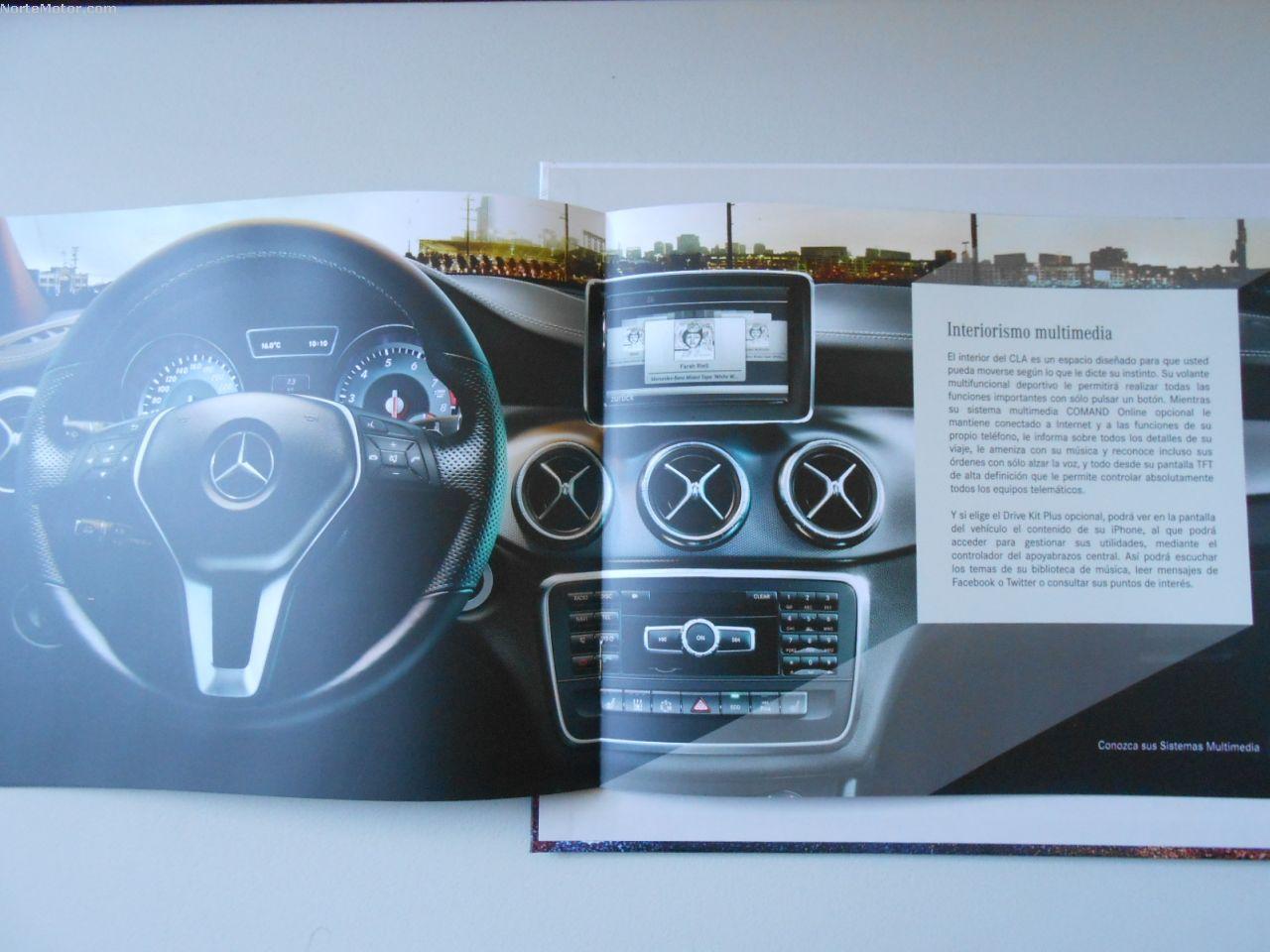 Revista Coche: Nuevo Mercedes-Benz CLA 2014