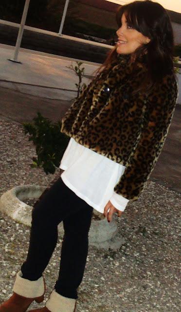 abrigo de leopardo