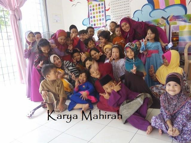 Jamuan Hari Raya 2014 di Sekolah Zulaikha