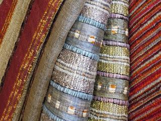 hand-woven textiles, Wesco Fabrics, silk