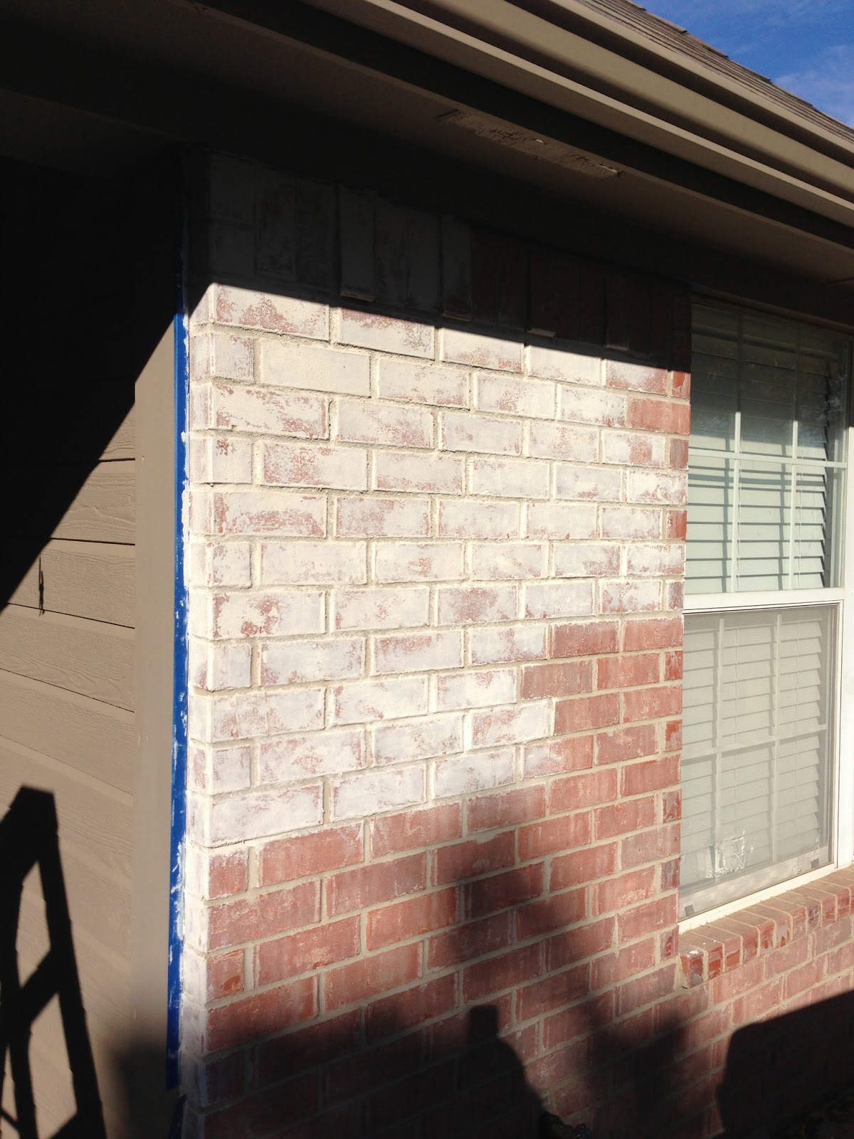 The white washed brick project | Kinda Frenchy - DIY repurposing ...
