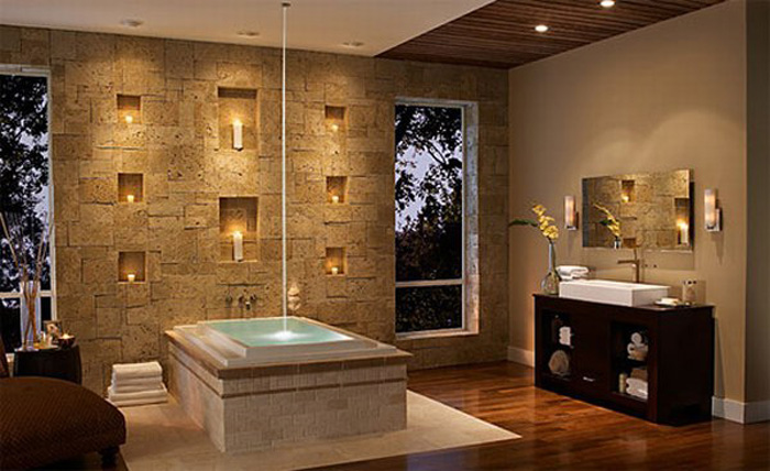 Bathroom Decorating By Using Stunning