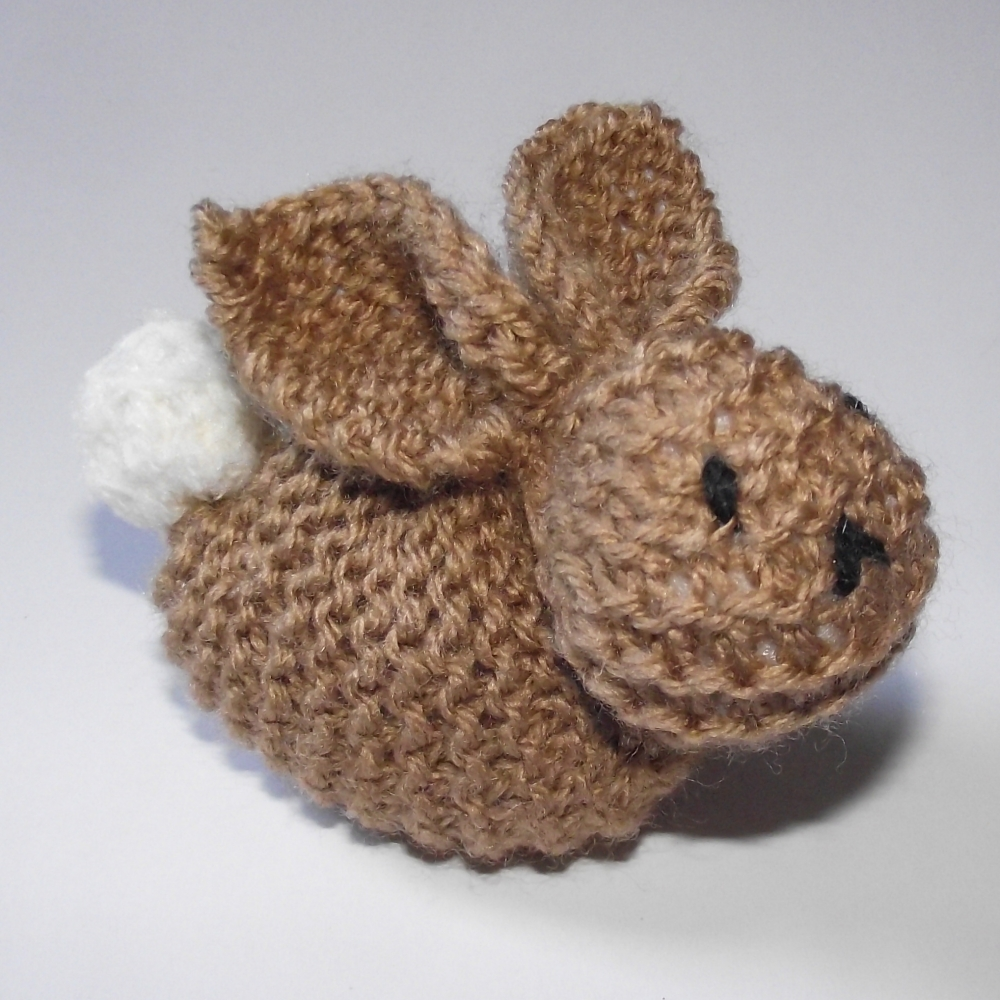 Knitted Rabbit Pattern : The Nutty Knitters blog: Knitted bunny - The Sequel