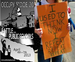 UnitedOptOut's Occupy the DOE 2.0 (Washington, DC) Apr. 4 to 7