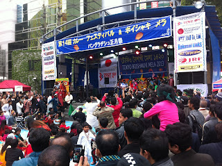 Music stage, Bangladesh Festival Tokyo 2013.