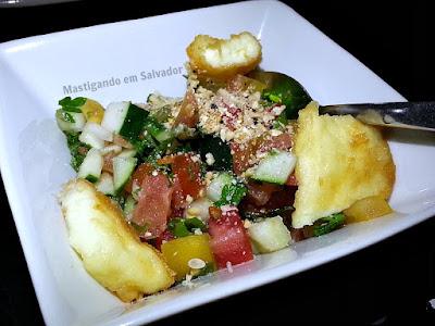 Salvador Dali na Salvador Restaurant Week 2015: Salada Ierushalmi