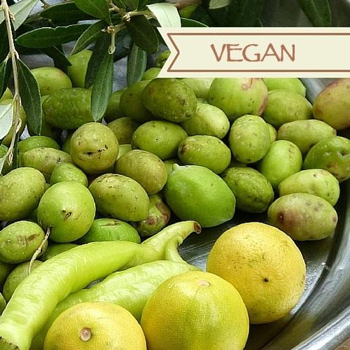 Eingelegte grüne Oliven  Setuun Khadra  Ägyptische Rezepte