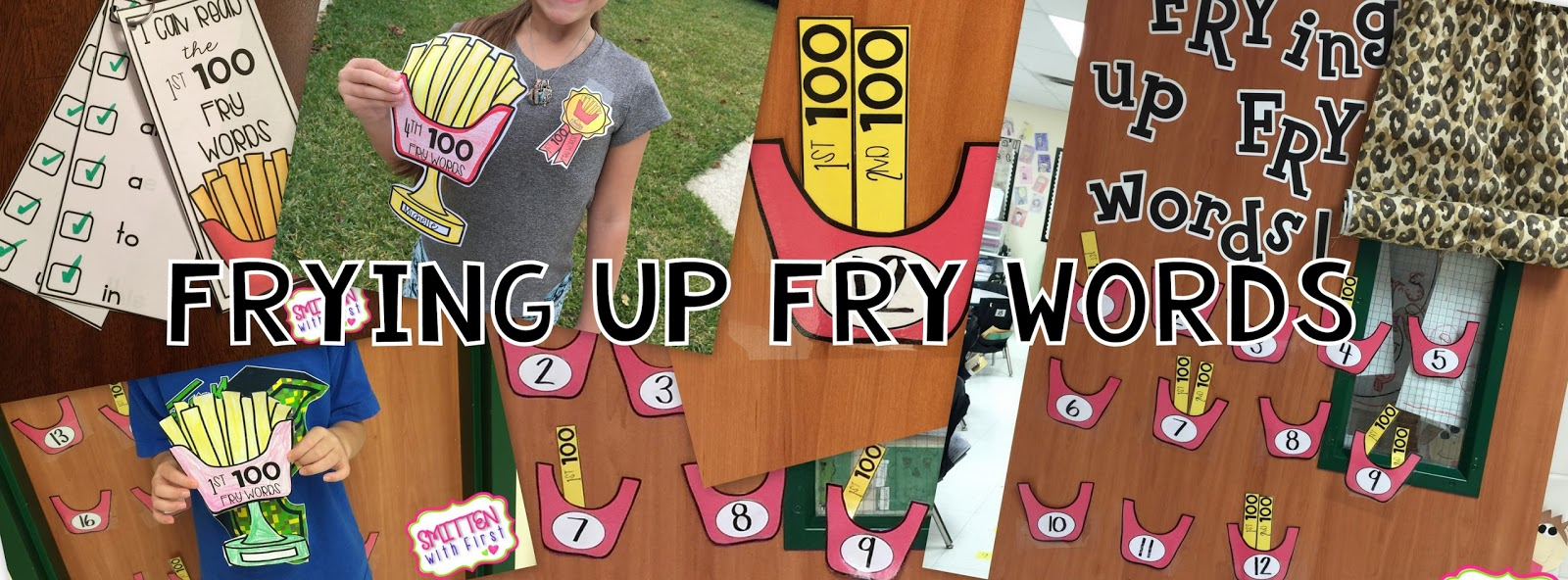 Smitten with First: Frying up FRY words!