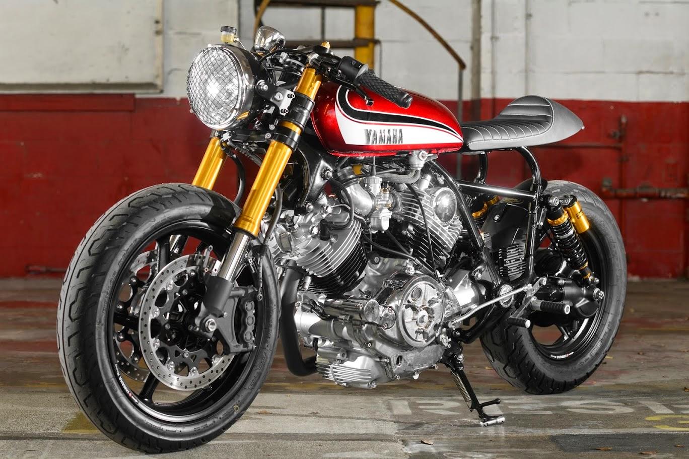 racing caf yamaha xv 750 virago by hageman motorcycles