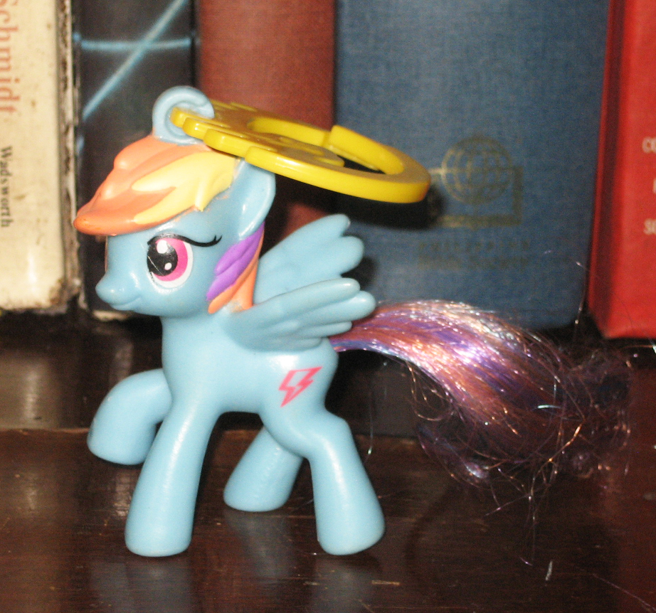 My Little Pony Toy Food : Percy s fast food toy stories blue lightning my little