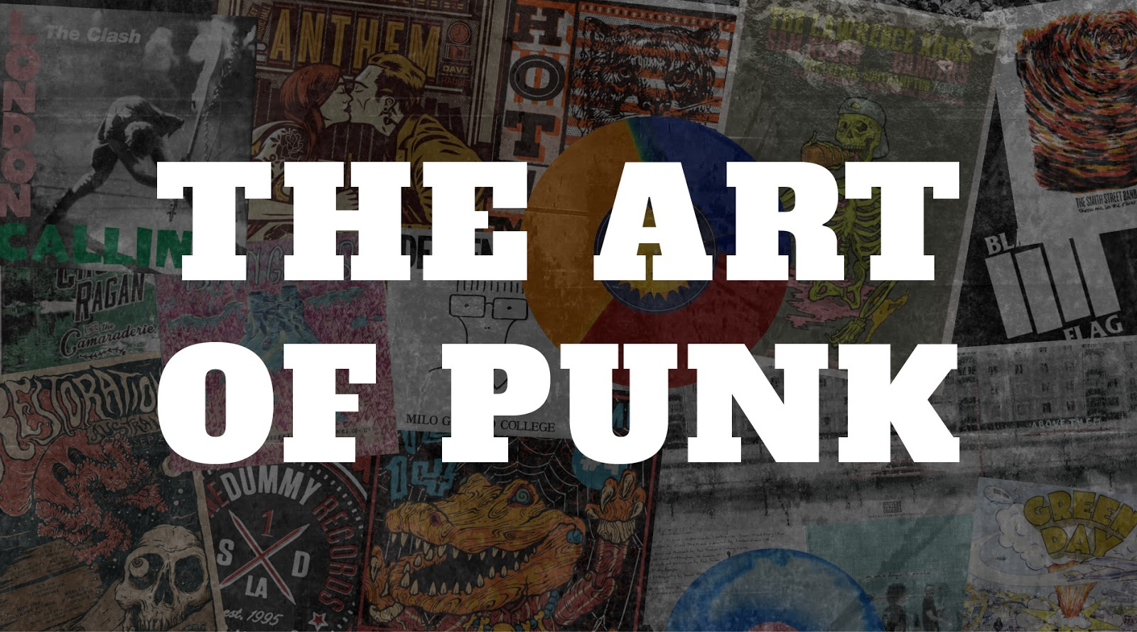 colin's punk rock world: art of punk: skulls & stuff