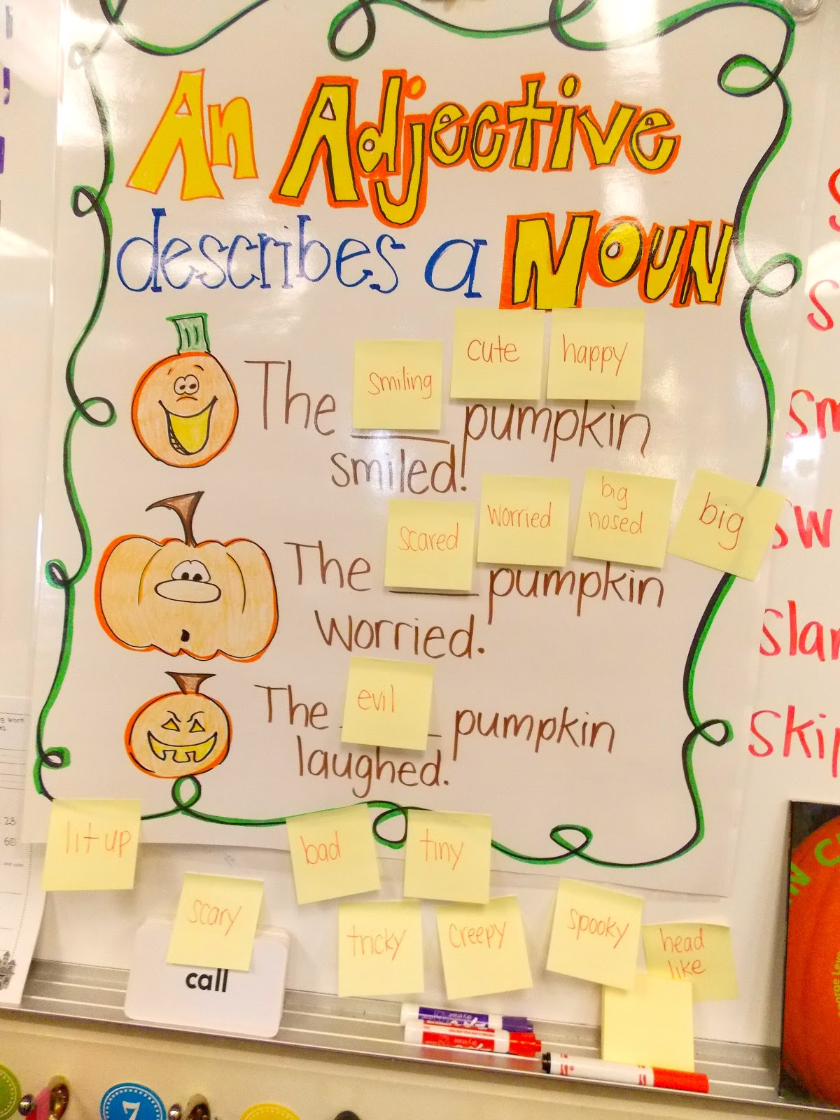 Pumpkins, Anchor charts and Life cycles on Pinterest