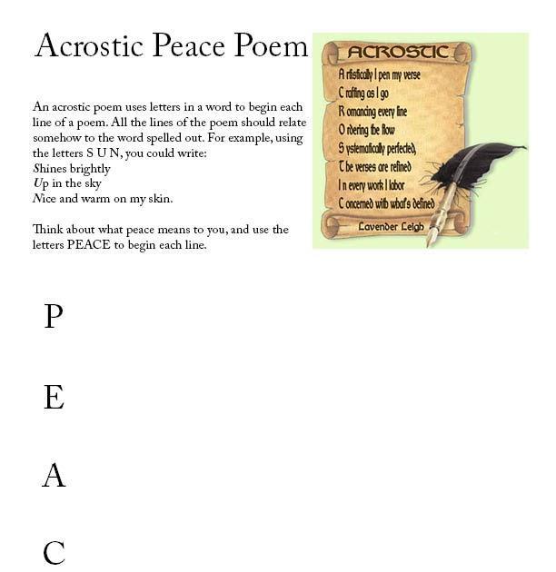 Just kidding just hurts activity acrostic poem
