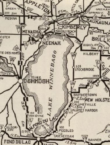 National Geographic North America Map 1924 - Maps.com