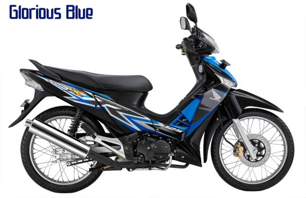 Pilihan Warna Baru Honda Supra X 125