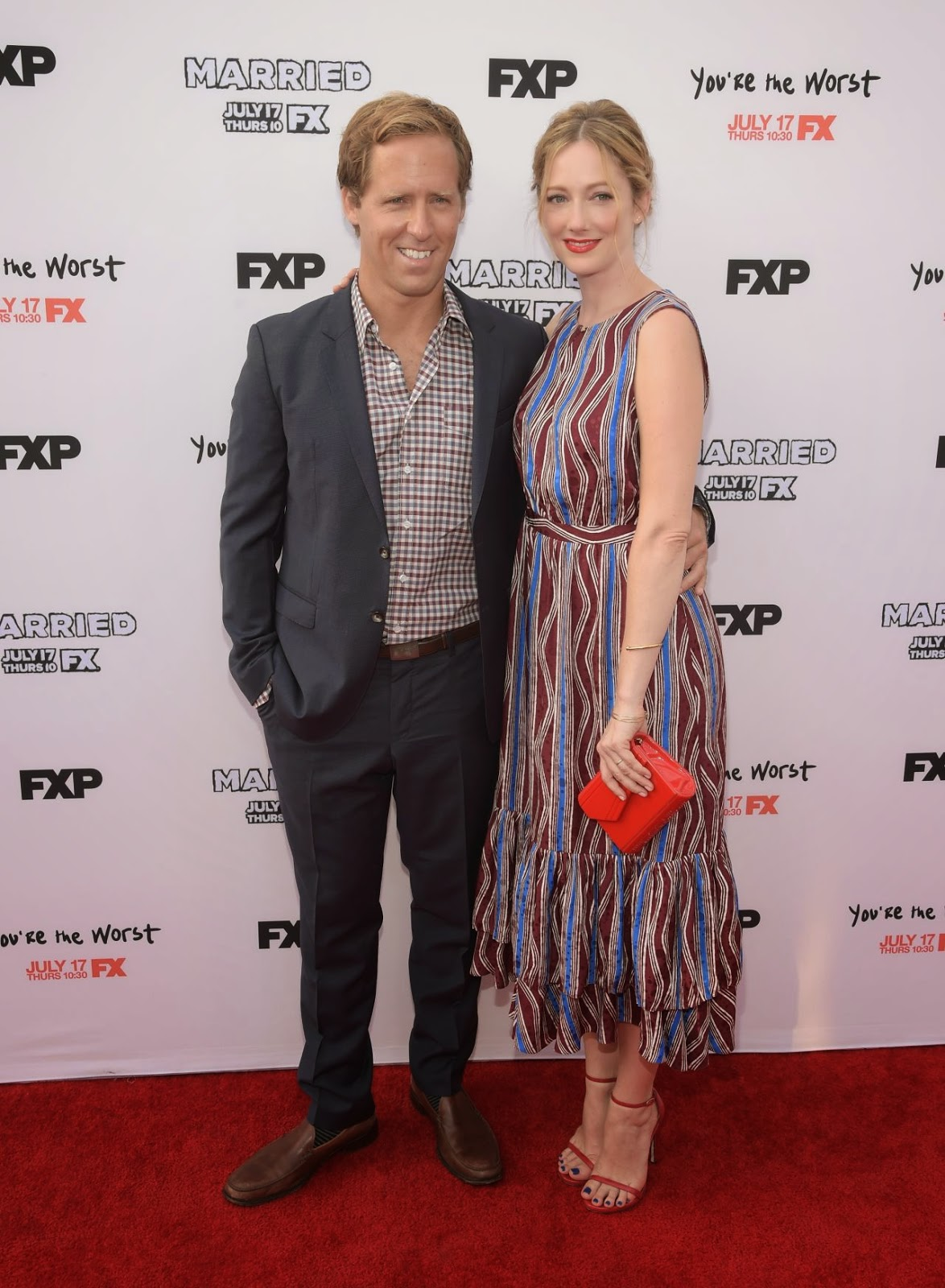 Judy Greer – FX's 'You're The Worst' & 'Married' Premiere in Los Angeles
