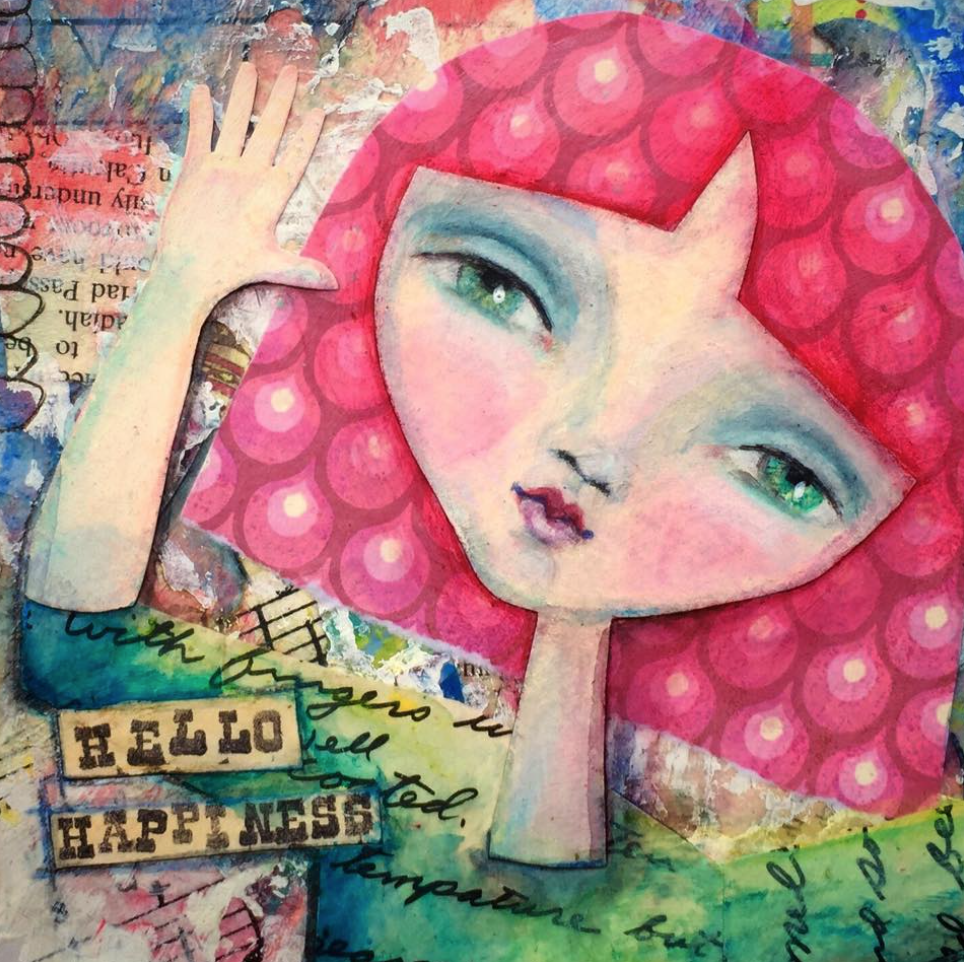 Laurie Sikorowski Mixed Media #Artwork