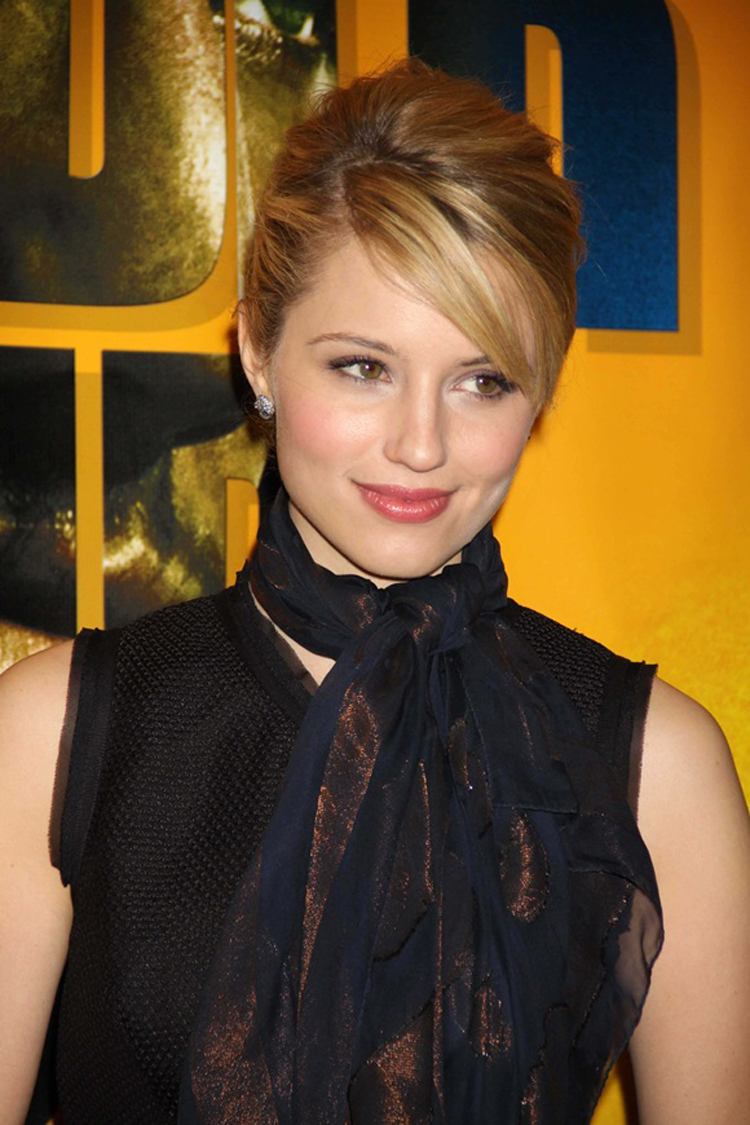 Fresh Look Celebrity Dianna Agron Hairstyles 35