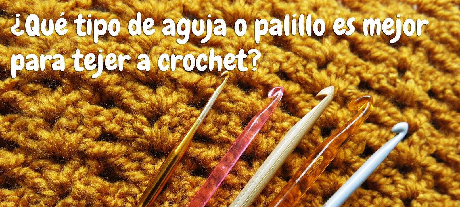 Botón de Flor: ¿Qué tipo de aguja o palillo es mejor para tejer a ...
